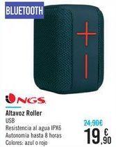Oferta de Altavoz Roller NGS  por 19,9€