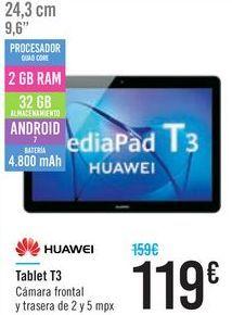 Oferta de Tablet T3 Huawei  por 119鈧�