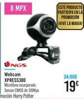 Oferta de Webcam XPRESS300 NGS  por 19鈧�