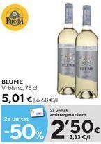 Oferta de Vino blanco Blume por 5,01€