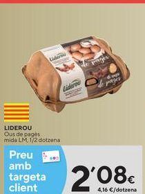 Oferta de Huevos por 2,08€