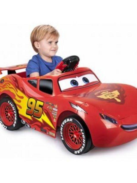 Oferta de VEHÍCULO INFANTIL CARS 3 RAYO MCQUEEN 6V por 169€