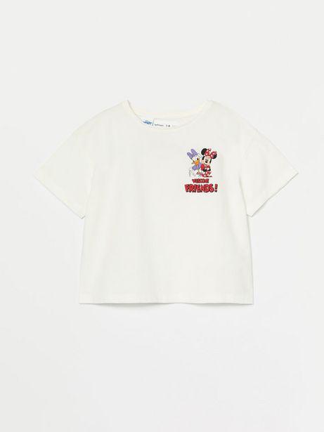 Oferta de Camiseta con estampado de Minnie ©DISNEY por 4,99€