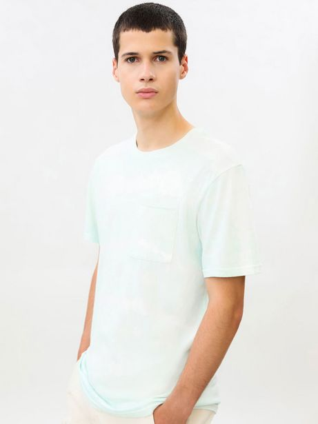 Oferta de Camiseta Tie Dye de manga corta por 5,99€