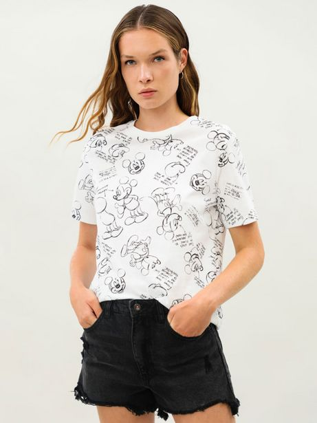 Oferta de Camiseta con estampado de Mickey Mouse ©Disney por 5,99€