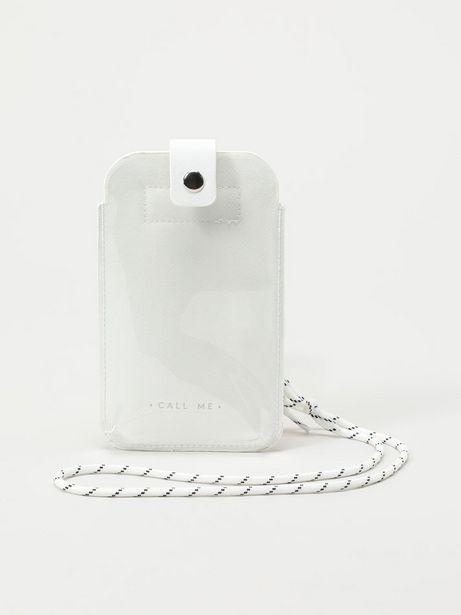 Oferta de Porta móvil transparente por 6,99€
