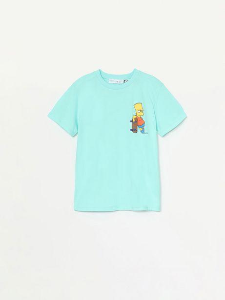 Oferta de Camiseta de manga corta de Bart ©The Simpsons por 4,99€