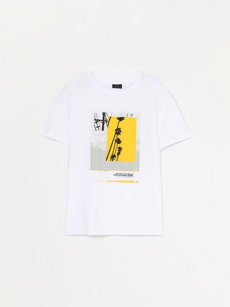 Oferta de Camiseta de manga corta estampada por 3,99€