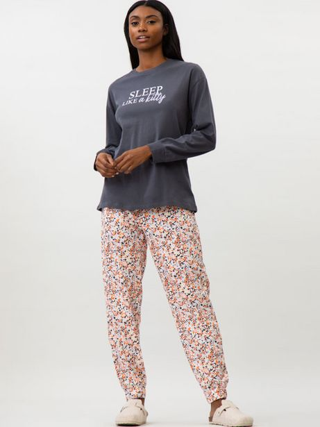Oferta de Conjunto de pijama estampado por 9,99€