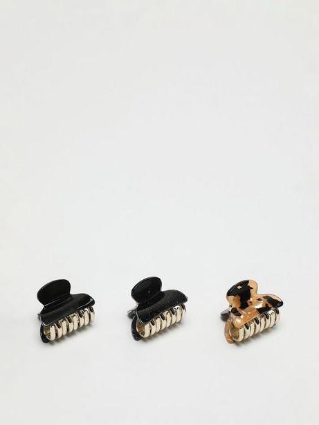 Oferta de Pack de 3 pinzas estampadas por 3,99€