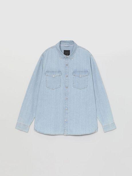 Oferta de Camisa denim de manga larga por 12,99€