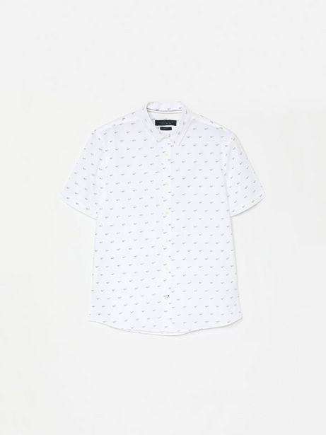 Oferta de Camisa popelina de manga corta por 9,99€
