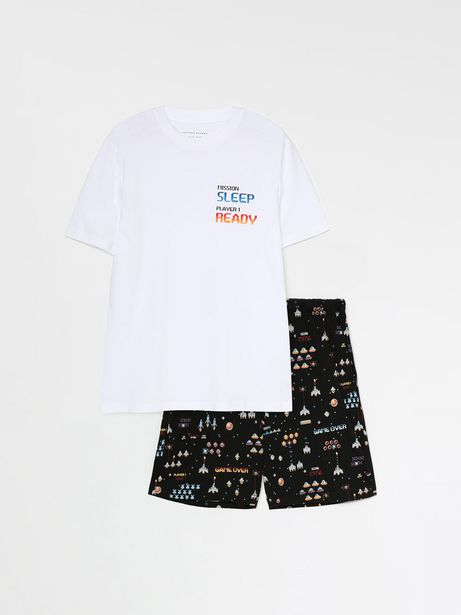 Oferta de Conjunto de pijama corto estampado por 9,99€