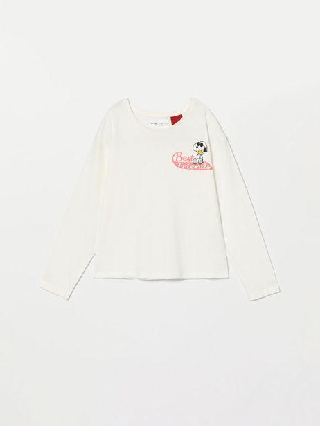 Oferta de Camiseta de manga larga de Snoopy Peanuts™ por 4,99€