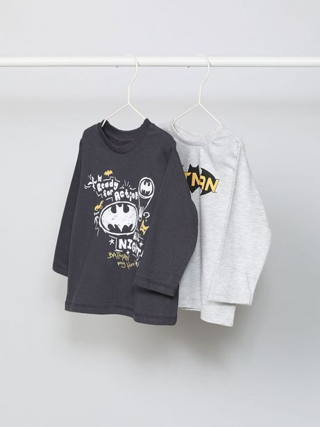 Oferta de Pack de  camisetas de manga larga de Batman ©DC por 9,99€