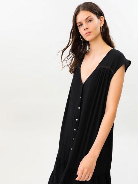 Oferta de Vestido midi oversize por 19,99€