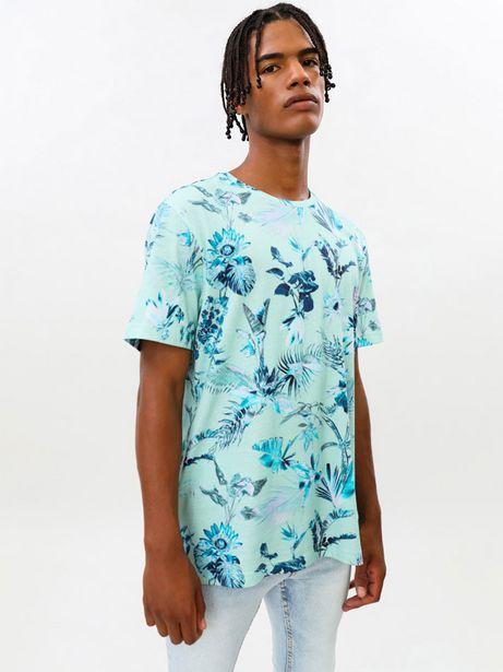 Oferta de Camiseta de manga corta estampada por 6,99€