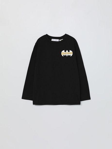 Oferta de Camiseta de manga larga de Batman ©DC por 4,99€