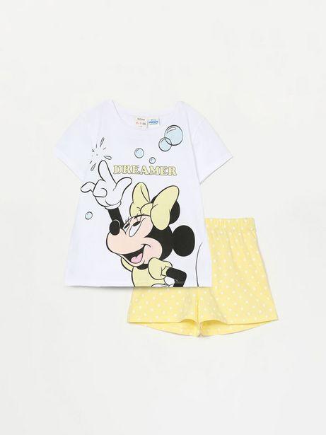 Oferta de Conjunto de pijama corto de Minnie ©Disney por 7,99€