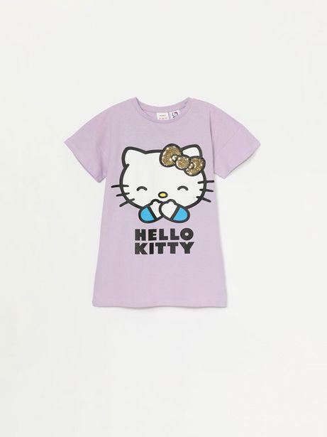 Oferta de Vestido de Hello Kitty ©SANRIO con lentejuelas mágicas por 7,99€