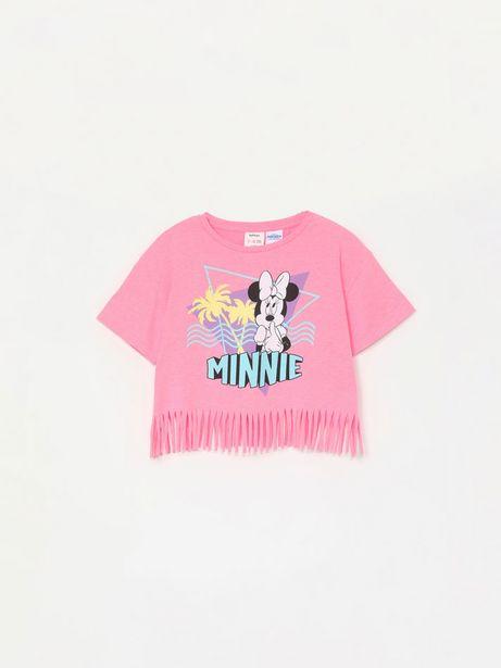 Oferta de Camiseta de Minnie ©Disney con flecos por 9,99€