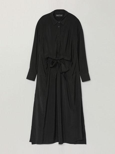 Oferta de Vestido midi con lazada por 19,99€