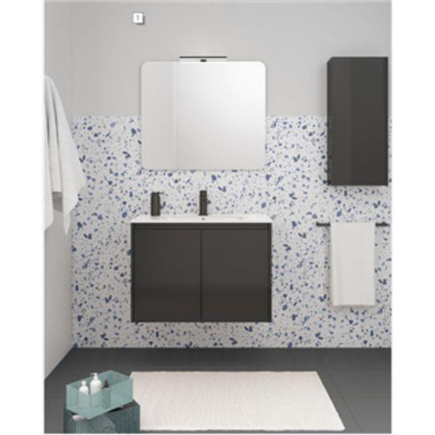 Oferta de Mueble de baño 2 puertas con lavabo cerámico Sansa Royo por 170,99€