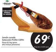 Oferta de Jamón curado Selección PURA CEPA por 69€