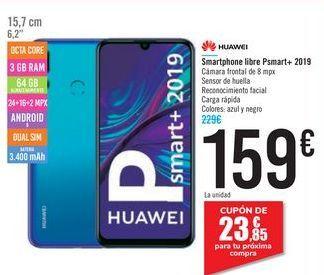 Oferta de Smartphone libre Psmart+ 2019 HUAWEI por 159€