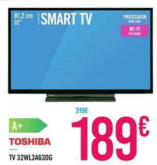 Oferta de TV 32WL3A63DG TOSHIBA por 189€