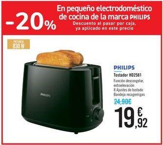 Oferta de En pequeño electrodoméstico de cocina de la marca PHILIPS  por 19,92€