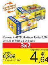 Oferta de Cerveza AMSTEL Radler o Radler 0,0% por 6,96€