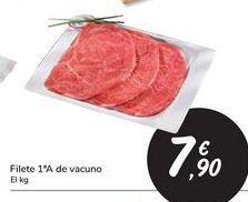 Oferta de Filete 1ªA de vacuno  por 7,9€