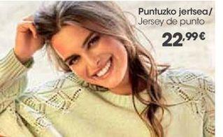 Oferta de Jersey de punto por 22,99€