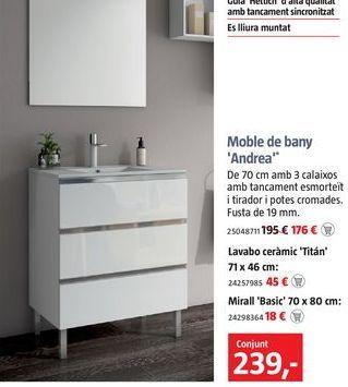 Oferta de Muebles de baño por 239€