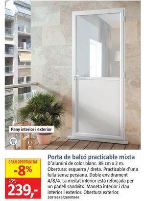 Oferta de Puertas por 239€