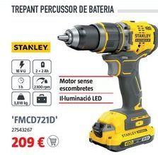 Oferta de Taladro percutor Stanley por 209€