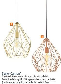 Oferta de Lámpara de techo por 49,99€