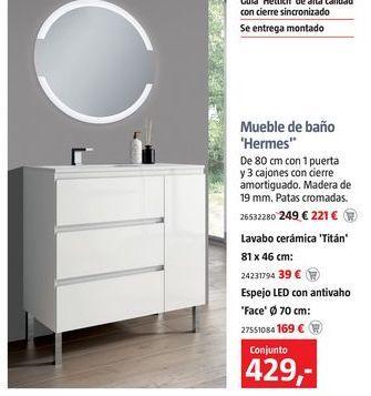 Oferta de Muebles de baño por 429€