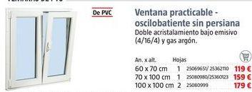 Oferta de Ventanas por 119€