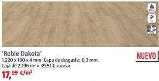 Oferta de Suelo vinílico al corte por 17,99€