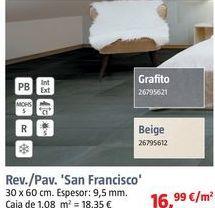 Oferta de Revestimiento cerámico por 16,99€