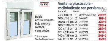 Oferta de Ventanas por 209€