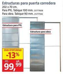 Oferta de Puerta corredera por 99,99€