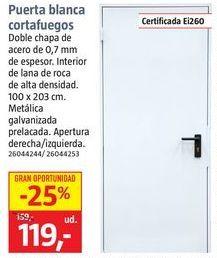 Oferta de Puerta cortafuegos por 119€