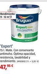 Oferta de Pintura plástica Bruguer por 47,95€