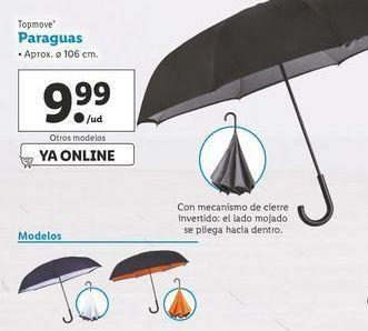 Oferta de Paraguas Top Move por 9,99€