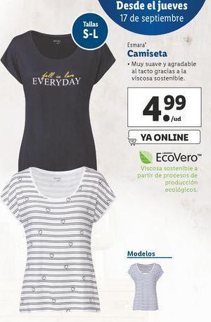 Oferta de Camiseta esmara por 4,99€