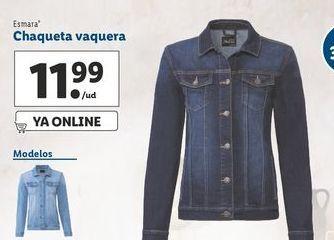 Oferta de Chaqueta vaquera mujer esmara por 11,99€