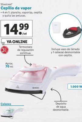 Oferta de Cepillos de vapor SilverCrest por 14,99€